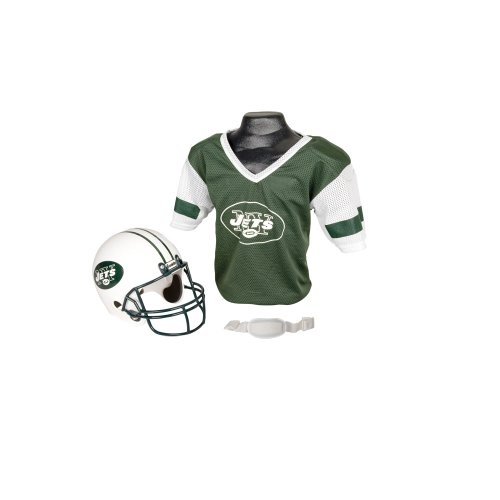 NFL New York Jets Replica Youth Helmet and Jersey Set at Amazon.com