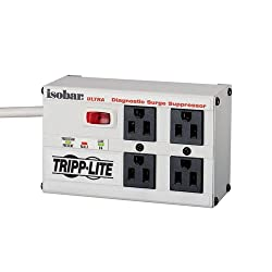 Tripp Lite ISOBAR4ULTRA Isobar Surge Protector Metal 4 Outlet 6 feet Cord 3330 Joules