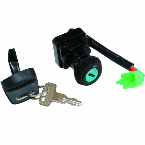 Caltric IGNITION KEY SWITCH Fits ARCTIC CAT 300 2X4 4X4 1998 1999 2000 ATV KEW SWITCH NEW (Ignition Switch Arctic Cat compare prices)