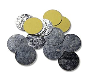30 Z Palette Round Metal Magnetic Metal Stickers for Non-Magnetized Makeup Pans 26 mm For Use With Z Palettes Only