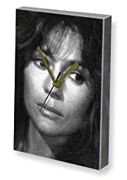 JAMIE LEE CURTIS - Canvas Clock (LARGE A3 - Signed by the Artist) #js002