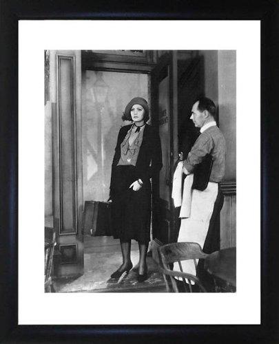 Gretta Garbo foto incorniciata