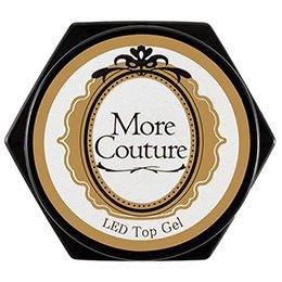 More Couture モアジェル LED UV トップジェル 5g
