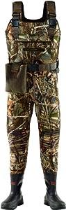LaCrosse Mens Swamp Tuff Pro Mossy Oak Bottom Land 1000G Wader Boots by LaCrosse