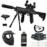 TIBERIUS ARMS T9 ELITE PAINTBALL DELUXE SNIPER PACKAGE