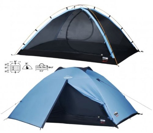 High Peak Jasperlite Ultralite 2 Person Outdoor Camping ...