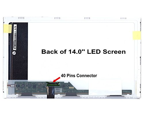 "14.0"" Lcd Screen Display For Samsung Np300E4C 1366*768 Led Display"