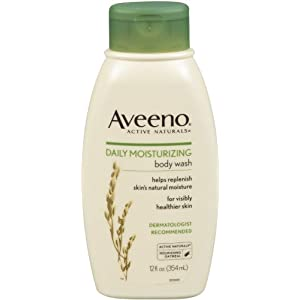 Aveeno Daily Moisturizing Body Wash, 12-Ounce (Pack of 2)