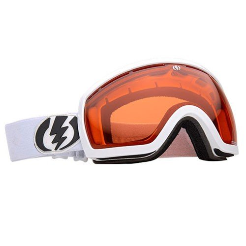 Electric Eg2.5 Snowboard Goggles Gloss White/Orange