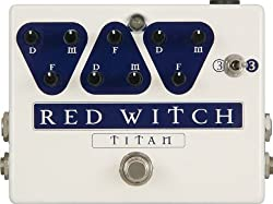 Red Witch Analog Pedals Reddelay Titan Guitar Delay Effect Pedal from Red Witch Analog Pedals