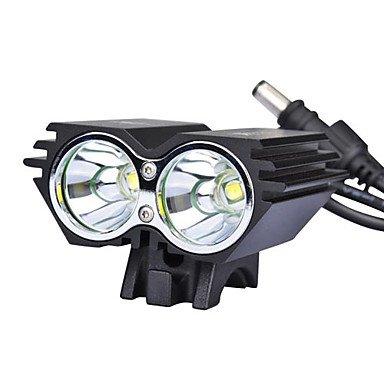 2U2 Bike Light / Solarstorm X2 2Xcree Xm-L U2 2000 Lumens Led 4 Modes Led Bike/Bicycle Front Light(12-2T64Mx2Bl)