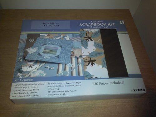 Leeza Gibbons Legacies Complete Scrapbook Kit (Whimsical Teal)