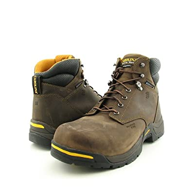 "Men's Carolina 6"" Waterproof 400 - gram Thinsulate Ultra Insulation Broad Composite Toe Boots, GAUCHO CRAZY HORSE, 8M"