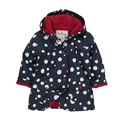 Hatley Snow Ball Girls Raincoat