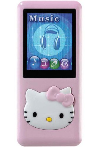Ingo - HEM080C - Jeu Electronique - Lecteur Mp4 - Hello Kitty - 2 Giga