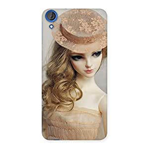 Gorgeous Royal Doll Multicolor Back Case Cover for HTC Desire 820