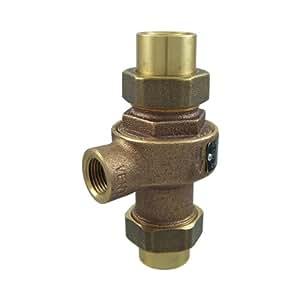 cash acme 09563 0125 fwc adjustable 1 2 inch pressure relief valve home improvement. Black Bedroom Furniture Sets. Home Design Ideas