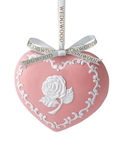 Wedgwood Breastcancer.org Heart Ornament