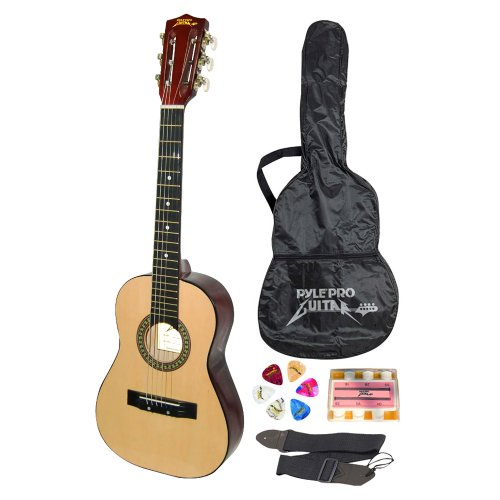 Pyle-Pro PGAKT30 30'' Inch Beginner Jamer, Acoustic Guitar w/ Carrying Case & Accessories