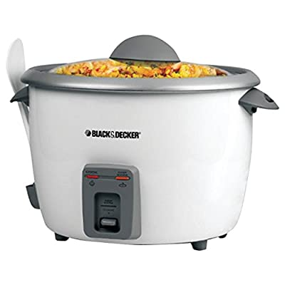 Black & Decker RC5428 28-Cup Rice Cooker, White by Applica Incorporated/DBA Black and Decker