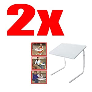 Amazon.com: 2 SET - NEW TABLE MATE 2 AS SEEN ON TV PORTABLE ...