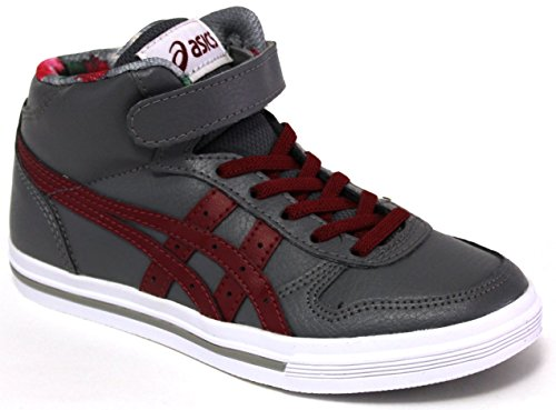 Asics Tiger Scarpa Fashion Junior - Aaron MT PS - C5B3Y-1125 - Grey/Burgundy-35