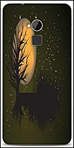 Snoogg Fantasy Background Designer Protective Back Case Cover For HTC One-Max