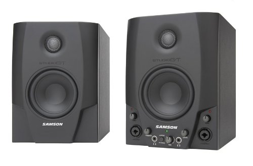 Samson Studio GT4 Active Monitors  USB Audio