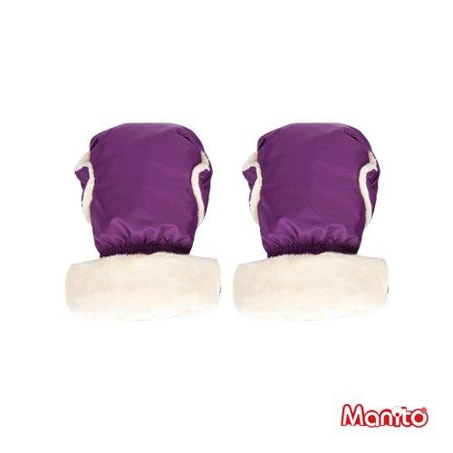 [Manito] Cozy Handmuff / Muff mano per Passeggino e Carrozzina / Mom Carrier Mani protettiva (Purple)