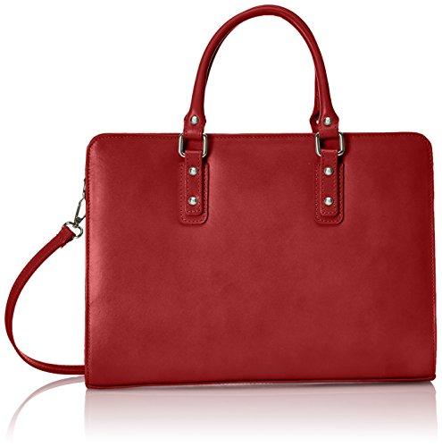 Chicca Borse D9047 Borsa a Mano, 36 cm, Rosso
