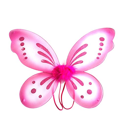 Weixinbuy Princess Angel Butterfly Wings Halloween Fancy Dress Costume