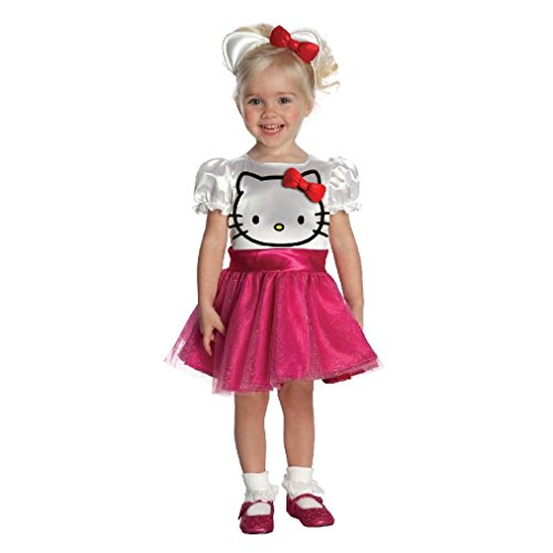 [Fancy Hello Kitty Toddler Costume] (Sexy Hello Kitty Costumes)