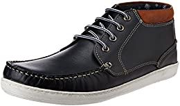 Red Tape Mens Leather Sneakers