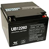26 AH SEALED 12 VOLT DEEP - CYCLE RECHARGEABLE BATTERY