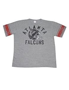 Mens NFL Atlanta Falcons Athletic Short Sleeve T-Shirt (Vintage Look) by NFL