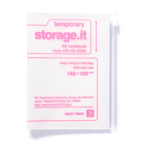 storage.it Notizbuch A6 Weiß MARK'S