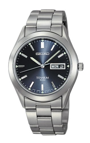 Seiko Mens Titanium Watch #SGG709