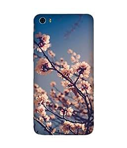 White Flowers Huawei Honour 6 Case