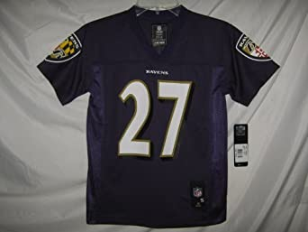 Ray Rice Baltimore Ravens Purple NFL Youth 2013-14 Season Mid-tier Jersey by OuterStuff