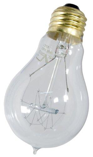 Genuine FerroWatt F1920 Double Loop Filament Lamp 60 Watt Antique Reproduction Light Bulb