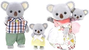 Sylvanian Families - 3554 - Mini-Poupée - Famille Koala