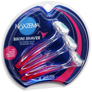 special pack of 5 noxzema bikini razors. Black Bedroom Furniture Sets. Home Design Ideas