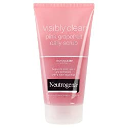 Neutrogena visibly clear pink grapefruit scrub 150 ml
