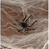 HALLOWEEN SPIDER WEBS & WEBBING + Spiders - FULL 12 Pack