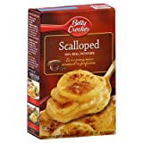 BETTY CROCKER SCALLOPED 100% REAL POTATOES 133g BOX