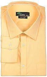 SWATHE Men's Formal Shirt (6148-3-40, Yellow)