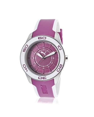 PUMA Women's PU103032002 Purple Plastic Watch