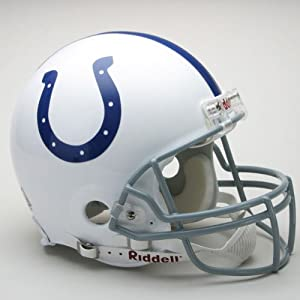 Riddell Indianapolis Colts Proline Authentic Football Helmet by Riddell