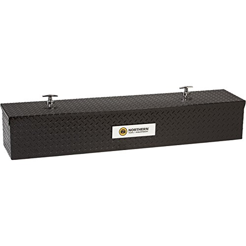 Northern Tool + Equipment black Aluminum Flush-Mount Side-Bin Truck Box (Flushmount Toolbox compare prices)