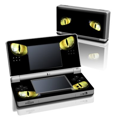 Cat Eyes Design Decorative Protector Skin Decal Sticker for Nintendo DS Lite